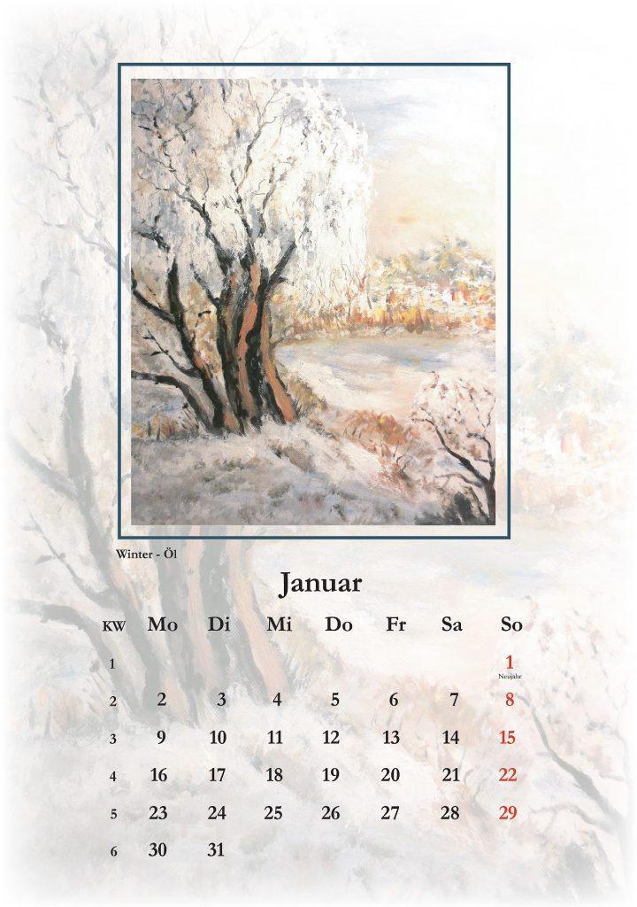 Januar, Kalender 2017 Küstenmomente