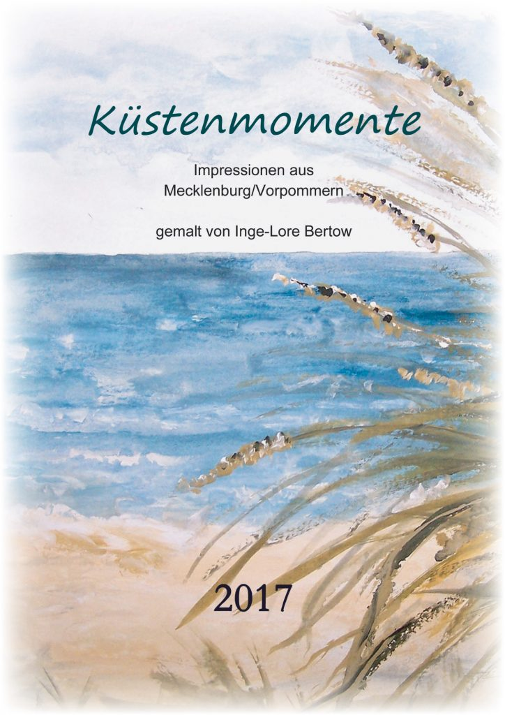 Titelblatt Kalender 2017 / Küstenmomente