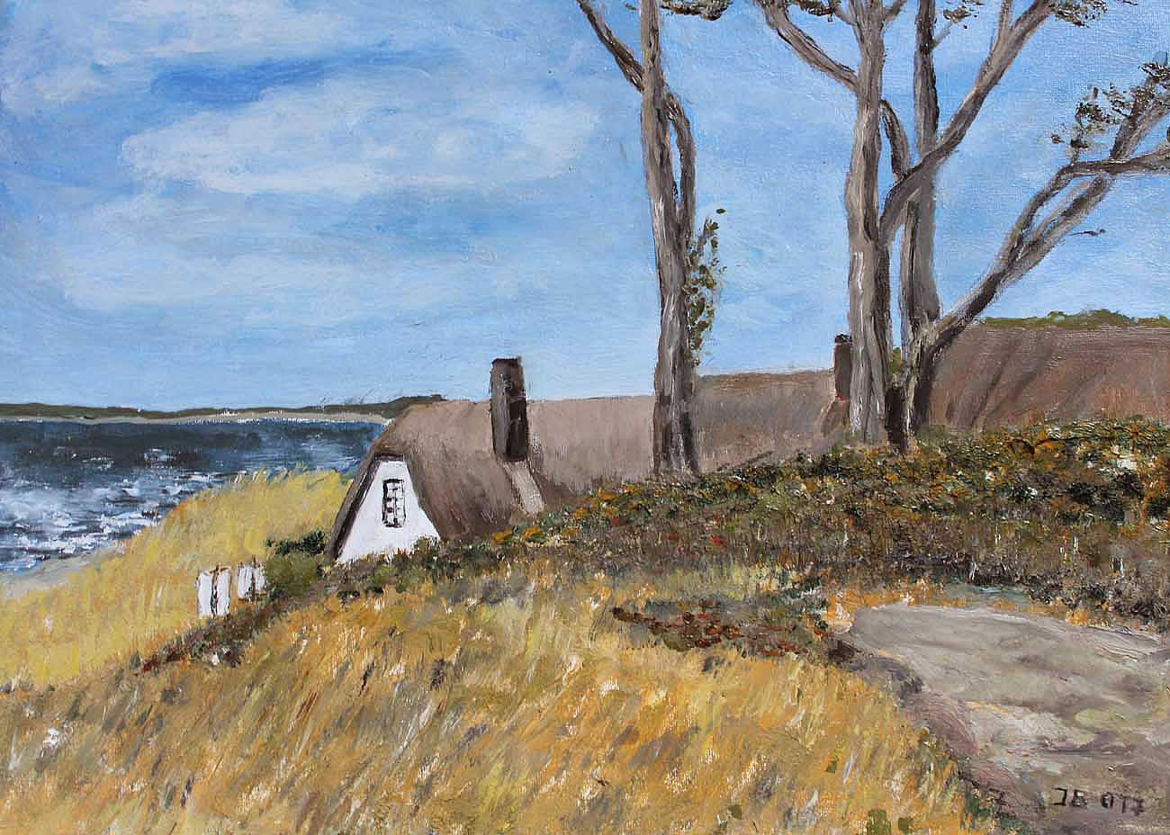 Ahrenshoop, Haus in den Dünen